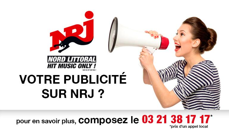 Faire de la publicité sur NRJ Nord Littoral, NRJ Saint Omer