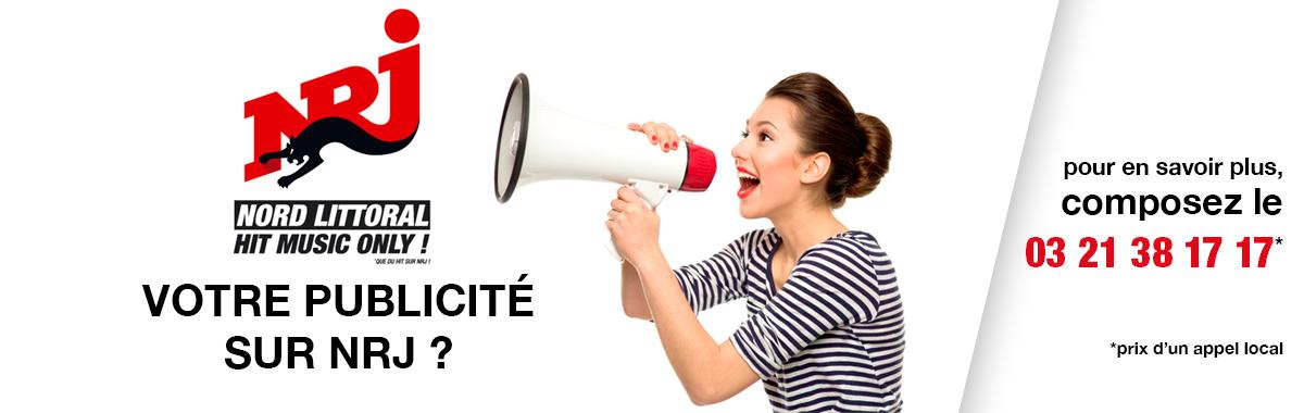 Faites parler de vous en faisant de la publicité sur NRJ Nord Littoral