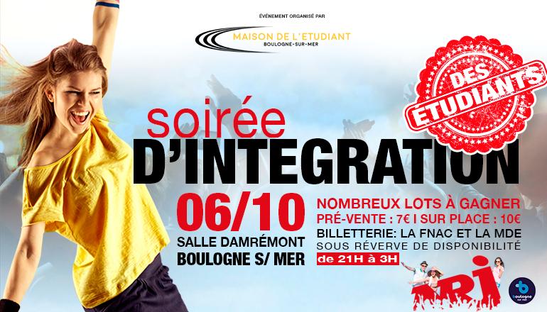 soirée d'intégration MDE Boulogne