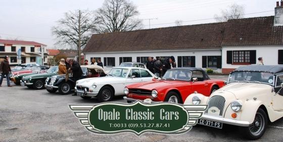 """""""Dégommage"""" de la Saint Patrick avec Opale Classic Cars"""