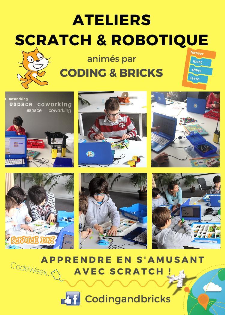 Atelier pour enfant Coding & Bricks Touquet