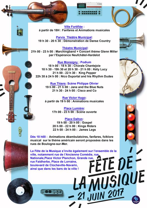 PROGRAMME-fête de la musique boulogne 2017
