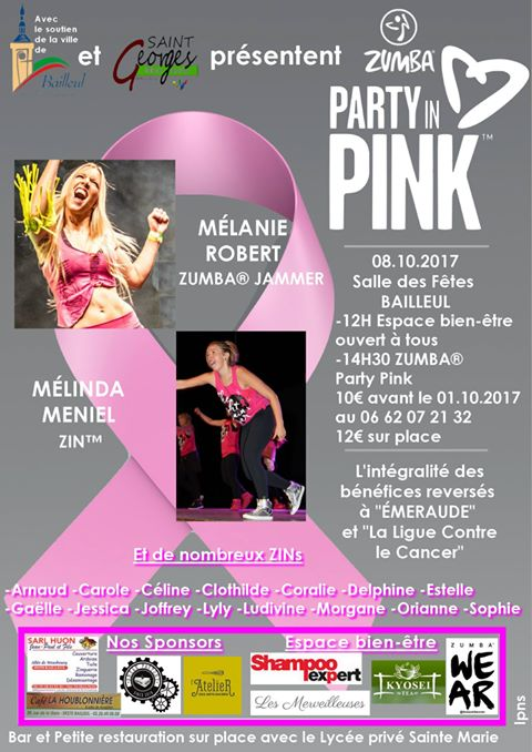 Zumba® Party Pink Octobre rose 2017