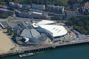 Le chantier du Grand Nausicaà va permettre d?agrandir l?aquarium existant tout en le métamorphosant en une raie manta géante tournée ver