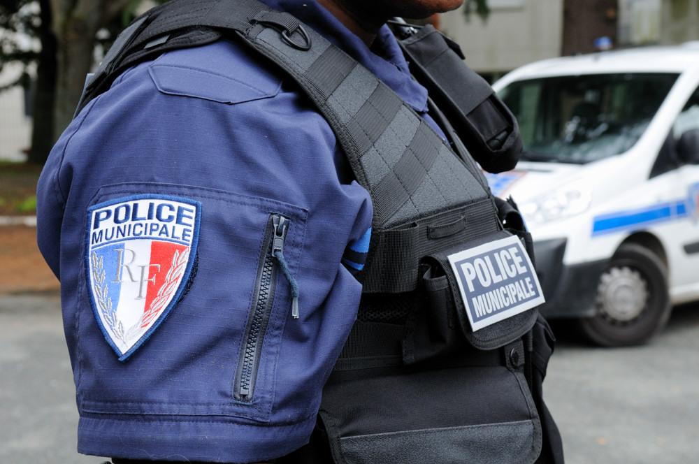 Ecusson police municipale.