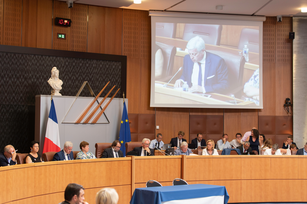 Séance plénière Conseil Départemental du 24 juin 2019